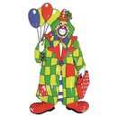 Clown mit Ballons